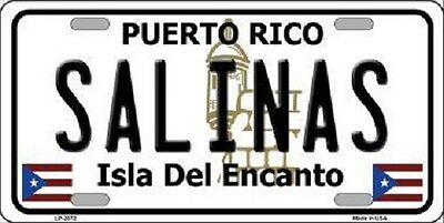 Yauco Puerto Rico FLAT Metal Novelty License Plate