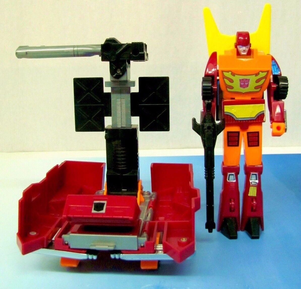 Generation 1 G1 Rodimus Transformers Figure Complete 1986 Gen1 Autobot