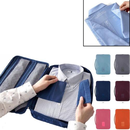 Travel Luggage Storage Organizer Bag Clothes Shirt Tie Bra Underwear Suitcase