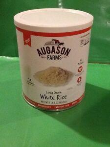 Augason Farms Long Grain White Rice Emergency Food Prepper