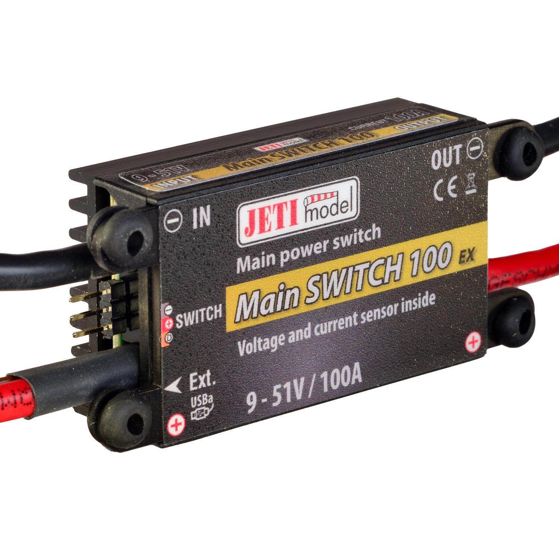 Duplex 2,4 ex - hauptschalter 100 + magnetische schalter jetimodel 80001230 820322