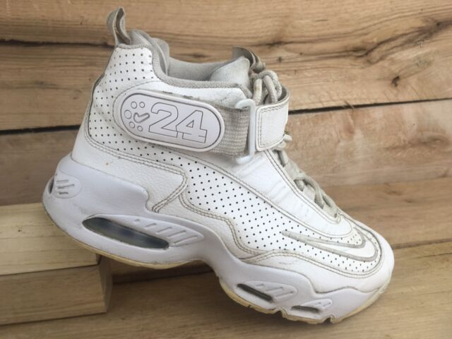 d8bea604 Nike Youth Big Kids White Air Griffey Max 1 GS Basketball Shoes 437353 107  Sz 5Y