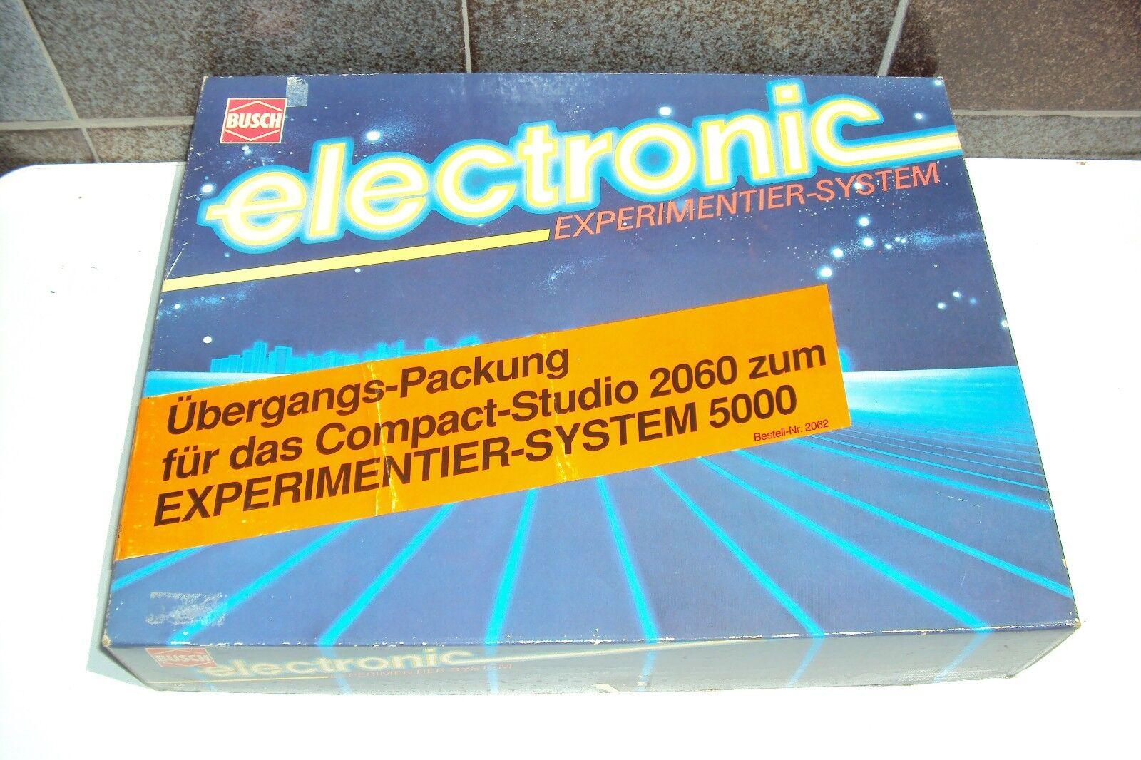 Busch Electronic Erweiterung 2060  Experimentier System 5000 / Bestellnr 2062