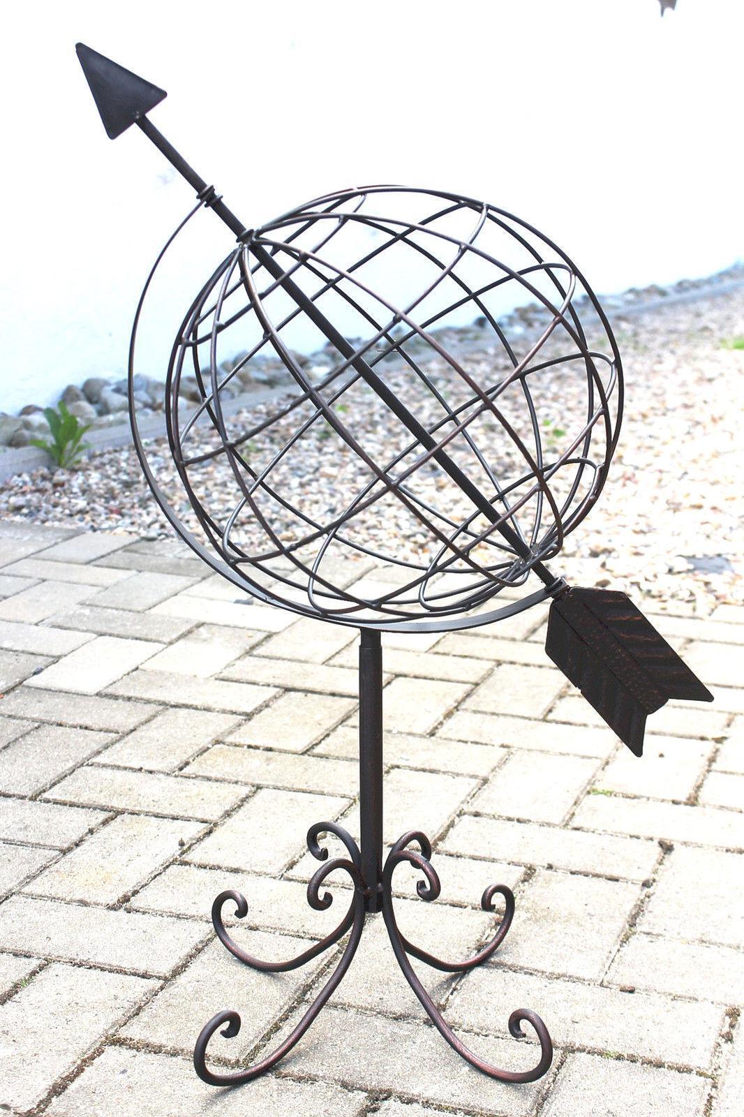 Globus aus Metall 101806 Sonnenuhr aus Schmiedeeisen 72 cm Gartenuhr Gartenuhr Gartenuhr Gartendeko   Spielzeugwelt, glücklich und grenzenlos    Erschwinglich    Auktion  b65cb2