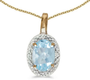 14k-Yellow-Gold-Oval-Aquamarine-and-Diamond-Pendant-no-chain-CM-P2615X-03