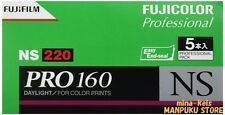 FUJIFILM PRO160 NS 220 Color Negative Film 5 Rolls from JAPAN F/S with tracking