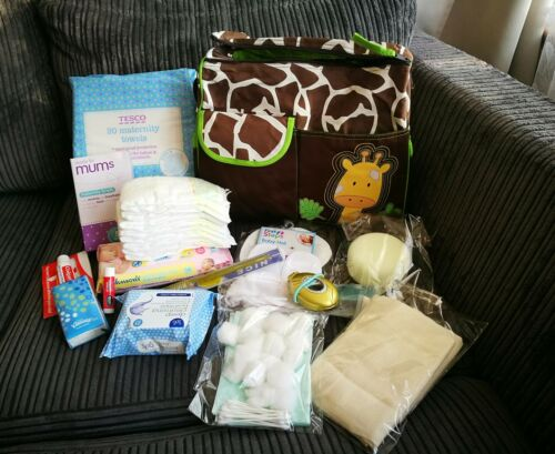 Premium Pre-packed maternity//hospital bag//changing bag//labour bag