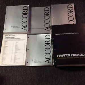 1998 1999 honda accord service shop repair workshop manual set w ewdimage is loading 1998 1999 honda accord service shop repair workshop