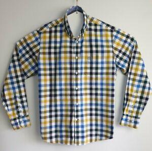 Men-039-s-Blue-Harbour-Reg-Fit-Super-Soft-Cotton-Long-Sleeve-Shirt-Size-L