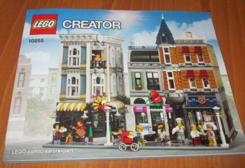 Construction 10255 Lego Creator Bauanleitung