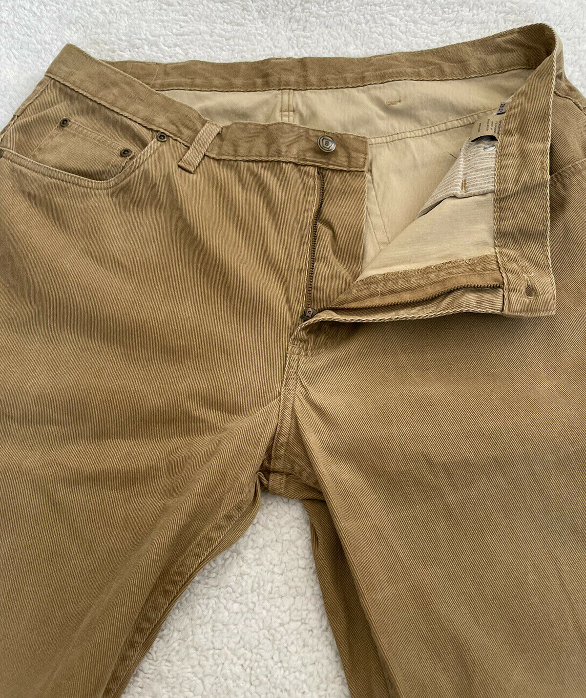 Bills Khakis Men Pleated Beige Cotton CORDUROY Ca… - image 9