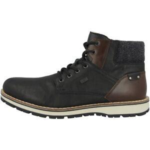"Rieker Tamburo-ambor-forato Chaussures Antistress Boots Bottines Black 38434-00-forato Schuhe Antistress Boots Stiefeletten Black 38434-00"" afficher Le Titre D'origine"