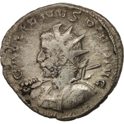 #411609 Gallienus, Antoninianus, 258259, Lyons, VF3035, Billon, RIC18