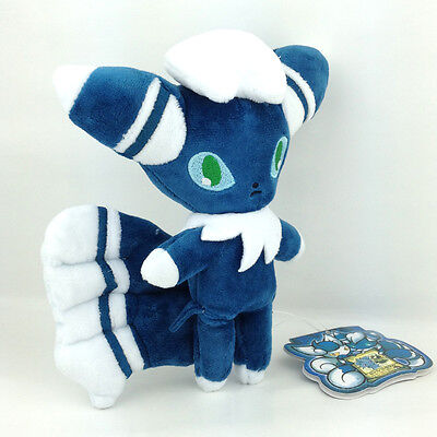 """Male Meowstic Pokemon XY Plush Soft Toy Stuffed Animal Cat Doll From Espurr 6.5/"""""""