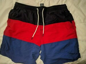 Tommy-Hilfiger-Men-039-s-Swim-Trunks-BRAND-NEW-L-G