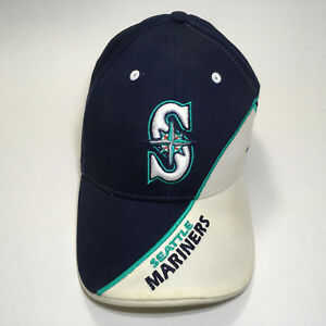 Seattle Mariners Baseball Hat Cap Vintage One Size Embroidered Twin ... 46c9032ae96d