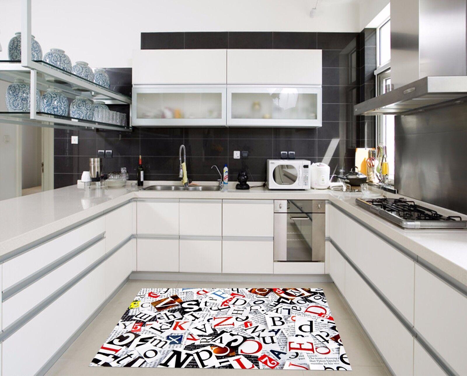 3D Newspaper 106 106 106 Kitchen Mat Floor Murals Wall Print Wall Deco AJ WALLPAPER UK 9d74ca