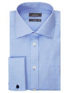 John-Lewis-no-Hierro-Twill-de-Superdry-de-doble-puno-Regular-Fit-Azul-Trabajo-Oxford-15-034