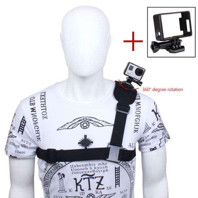 Accessories 360° Rotate Shoulder Strap+Standard Frame Mount for GoPro Hero3 3+ 4