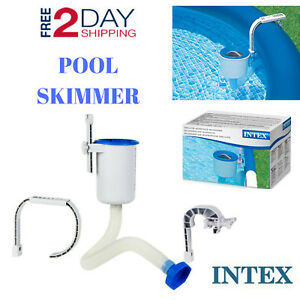 Floating Pool Skimmer Intex Parts Above Ground Surface