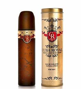 Cuba Royal Cologne for Men 100ml EDT Spray