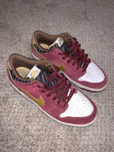 Nike SB Dunk Low Size 12 Anchorman Preowned/worn