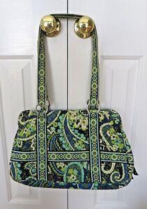 1e90d52659 Vera Bradley Shoulder Bag Purse in Retired Rhythm and Blues Green ...
