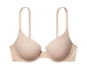 53081861a652c Victoria s Secret PINK Push Up Bra NUDE 32 34 36 A B C D DD ALL ...