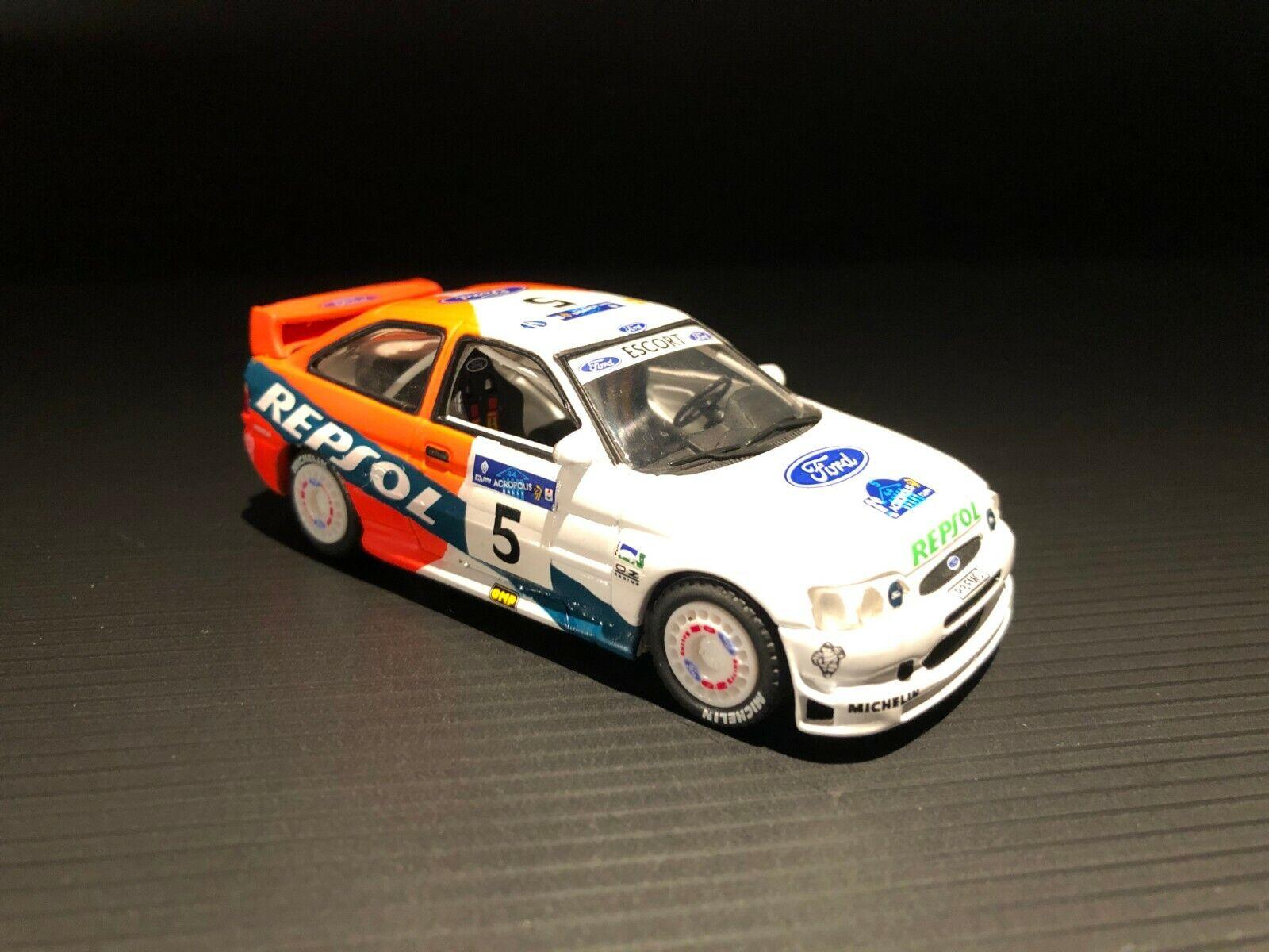 1 43 Ford Escort WRC Acropolis 1997 Sainz Moya Team Repsol exclusive Vitesse