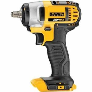 New-Dewalt-20-Volt-MAX-Lithium-Ion-3-8-034-Impact-Wrench-With-Hog-Ring-DCF883