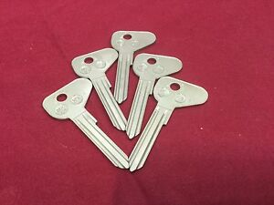 Datsu, Nissom MZ12 Key Blanks. Set of 5 - Locksmith