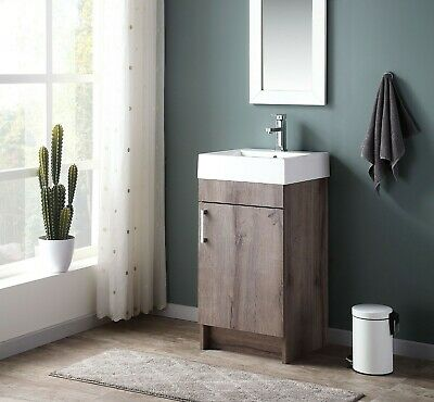 Bathroom Vanity With Sink Farmhouse, Small Bathroom Sink And Vanity Combo