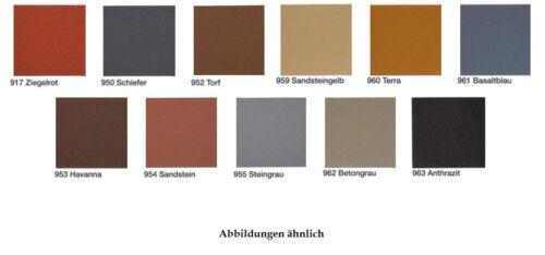 PUFAS Dach-und Sockelfarbe 12,5 Liter ++verschiedene Farbtöne+++