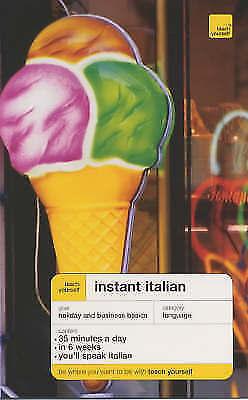 """AS NEW"" Smith, Elisabeth, Teach Yourself Instant Italian New Edition (TYIC) Boo"