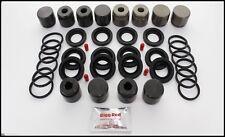Vw Touareg 42 V8 Front Brake Caliper Repair Kit Pistons 6 Pot 330mm Discs 17z