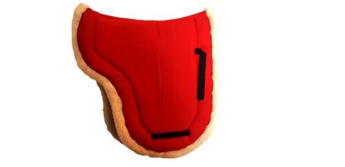 Qualité Supérieure Doux Fourrure Tapis de selle Taille marron noir rouge blanc pleine s//n