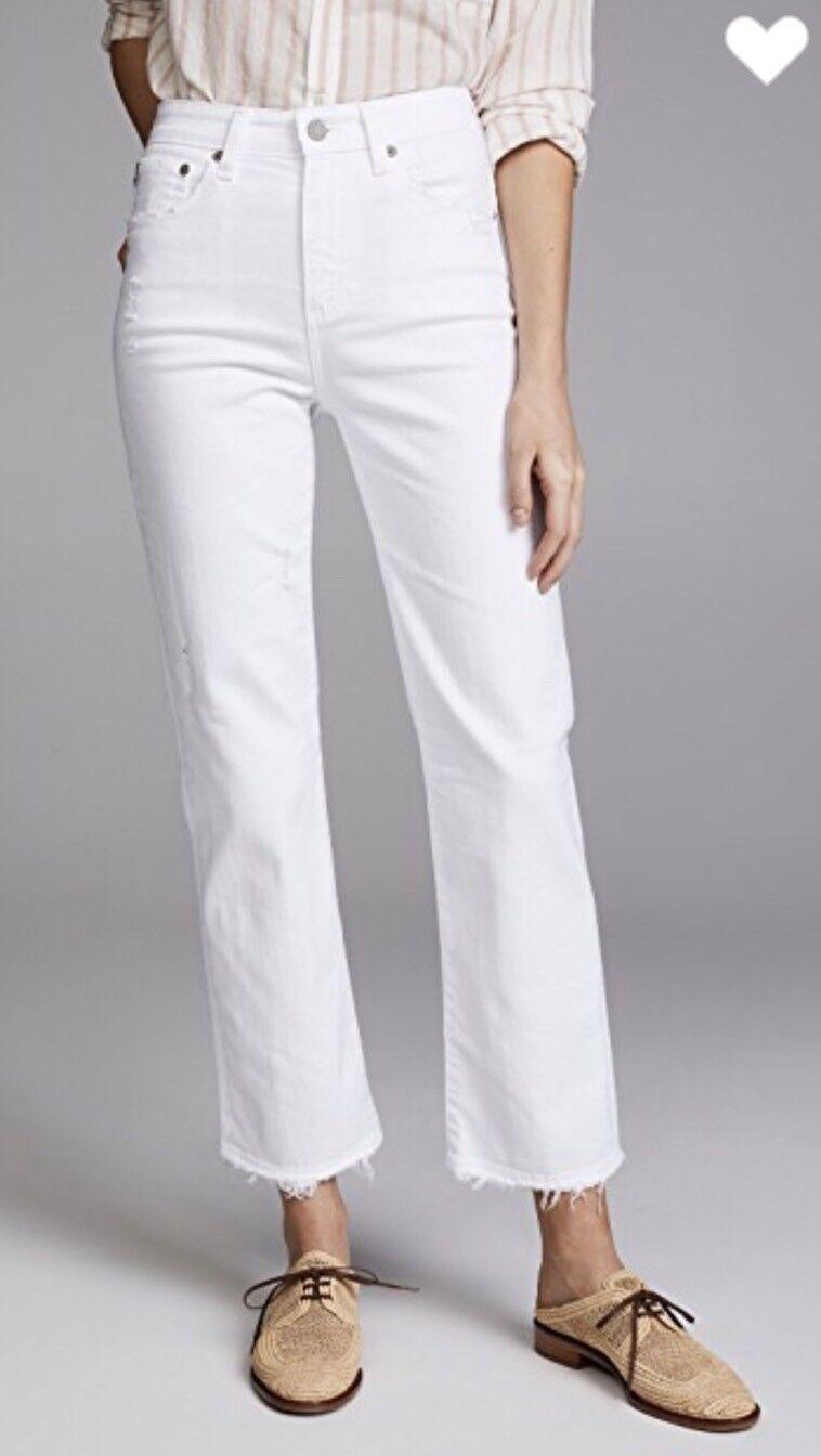 NEW  Adriano goldschmied The Rhett Jeans Size 30 AG-ED Denim H R Straight 2Y