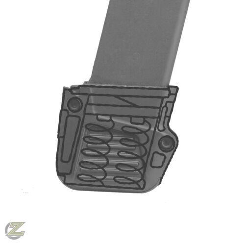 Glock 43 Grip Magazine Plus 4 Rounds Extension /& DPM Springs Recoil Reduction