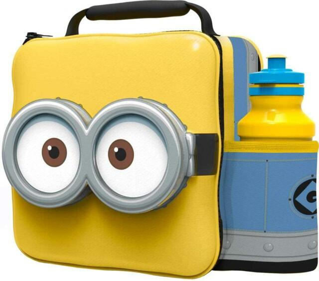 3D Minions Lunch Bag and Bottle