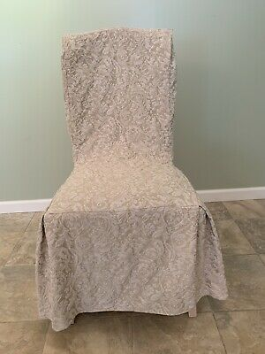 Armless Dining Chair Slipcovers 4