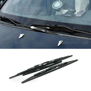 Front window glass wing wiper blade lh rh 2pcs set for chevrolet image is loading front window glass wing wiper blade lh rh freerunsca Gallery