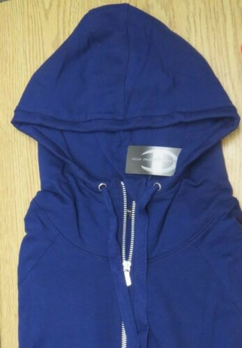 Champion Elite Navy Blue Hoodie LS Full Zip Active Jacket Pockets S M L XL V20