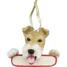 Wire Fox Terrier Ornament # 56