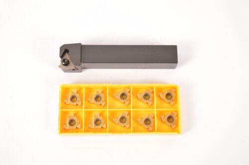 SER2020K22 20×125mm 10pcs 22ER N60  Lathe Index Threding Turning Tool  CNC