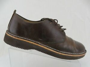CLARKS-Low-Brown-Sz-11-M-Men-Casual-Lace-Up-Oxfords