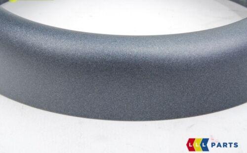 MINI NEW GENUINE R52 R50 R53 SHIFTER BOOT TRIM RING ANTHRACITE BLACK 7052161
