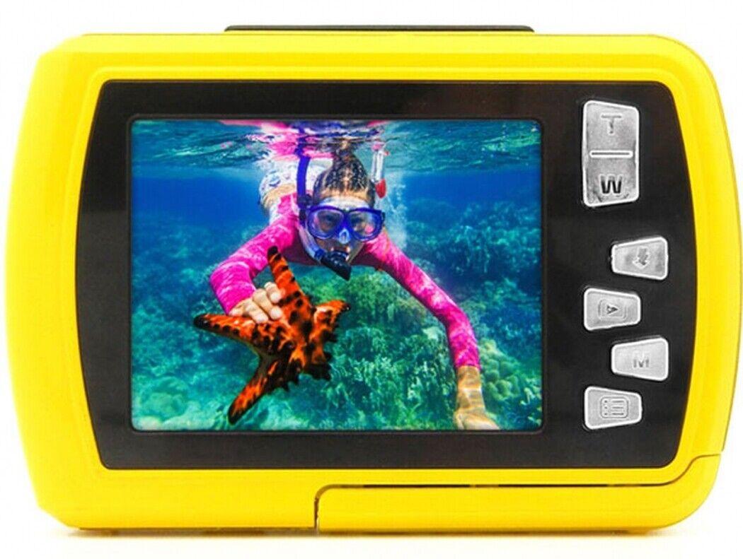 Easypix Aquapix W2024 Splash gelb Unterwasserkameras Digitalkameras