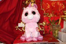 cda347afafc Ty 2014 Justice Rosey Unicorn Beanie Boos Jumbo Large 16