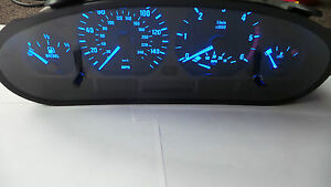 bmw-e46-blue-led-speedo-conversion-diy-kit-white-red-green