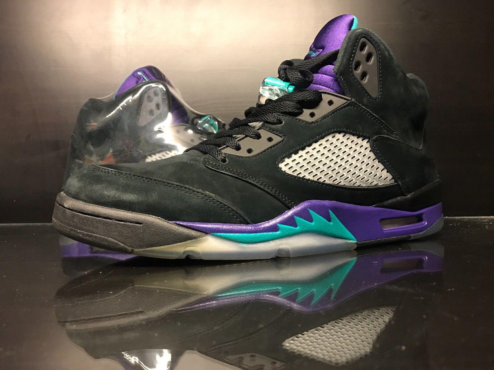 Air Jordan Black Grape 5 V - Size 14